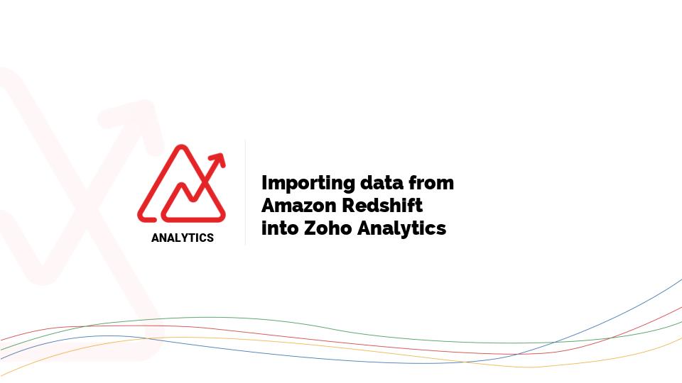 Import data from Amazon RDS l Zoho Analytics Help